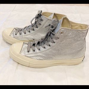 Metallic Converse ALL STAR HIGH TOP SIZE 9W